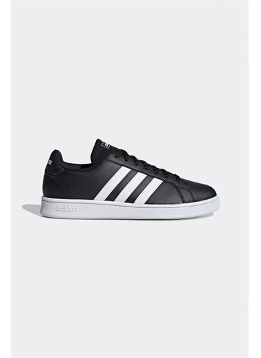 adidas Grand Court Base Erkek Günlük Ayakkabısı Ee7900 Siyah